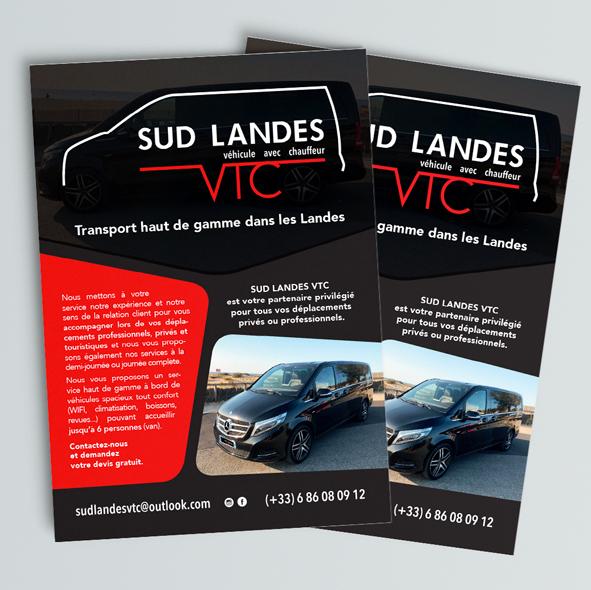 Flyer Sud Landes VTC