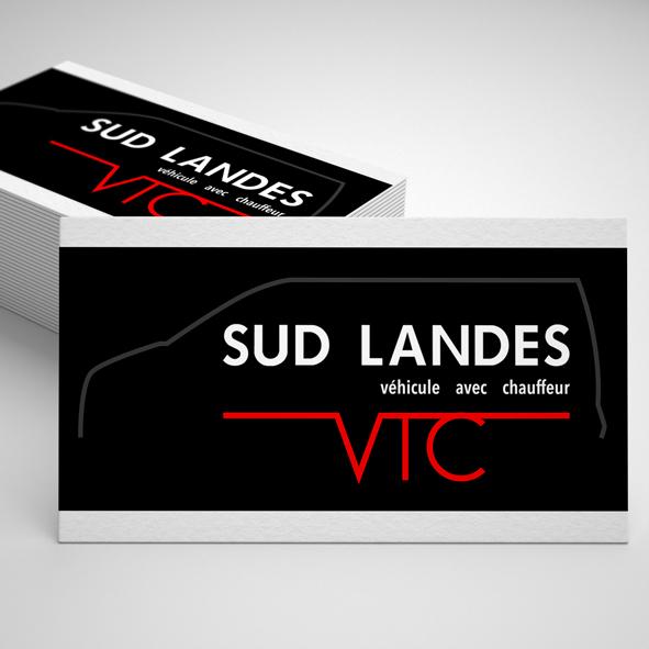 Carte de visite Flyer Sud Landes VTC