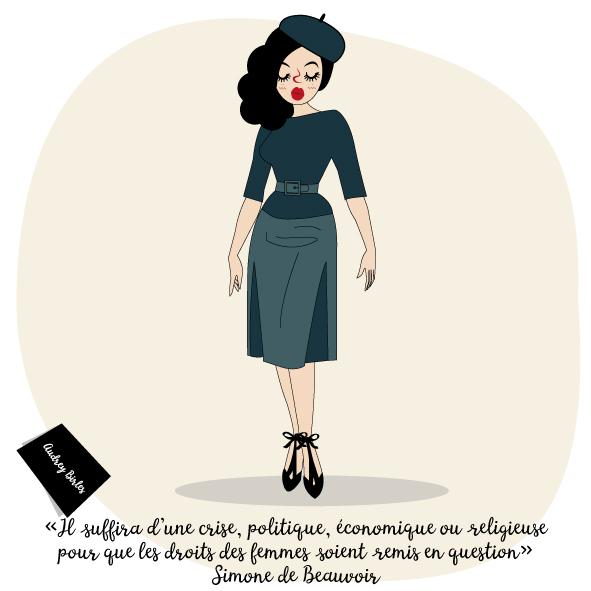Les nanas - Audrey Birles - Illustratrice Bayonne