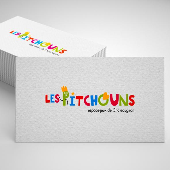 Logo les Pitchouns Espace jeu de Châteaugiron