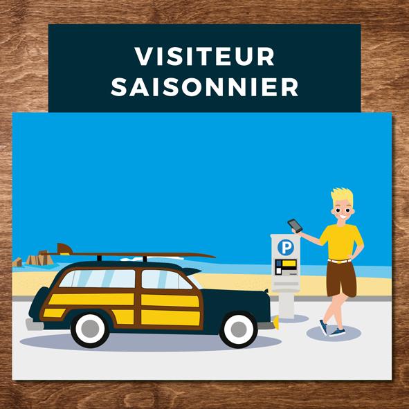 Illustration stationnement - Ville de Biarritz