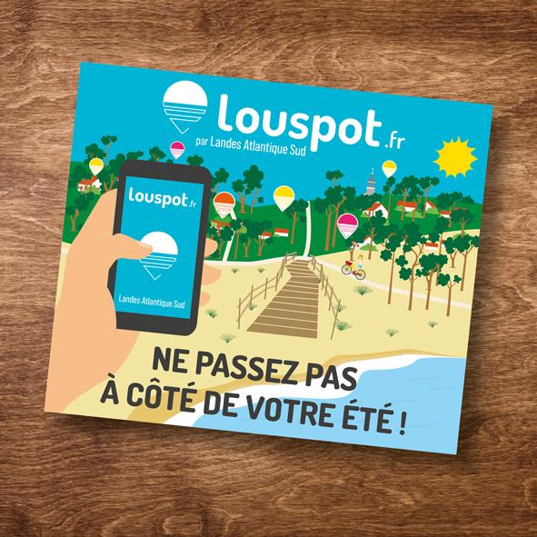 Illustration LOUSPOT - Landes Atlantique Sud