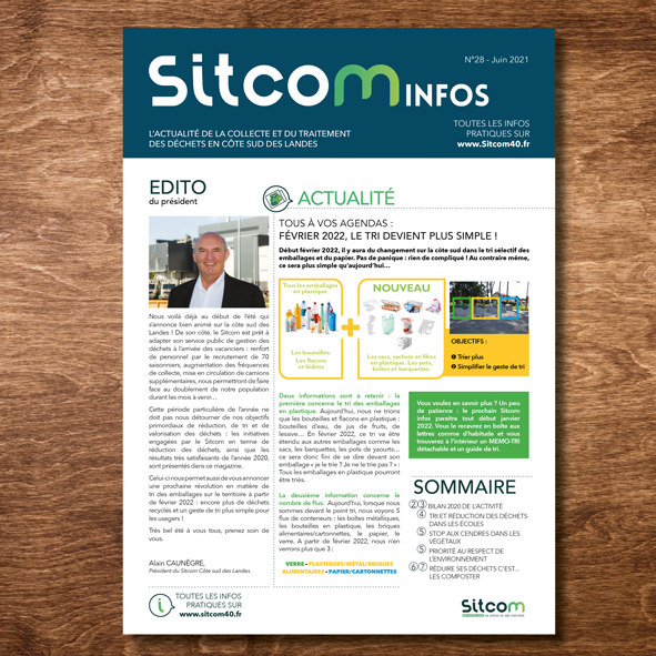 Sitcom info, le magazine du sitcom sud landes