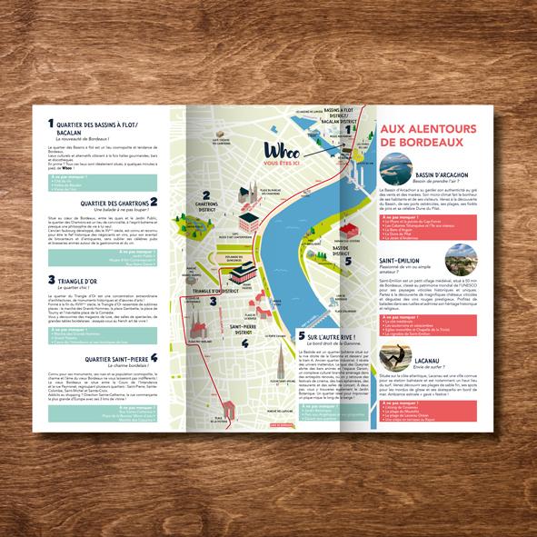Whoo Bordeaux - Plaquette de présentation - cartographie