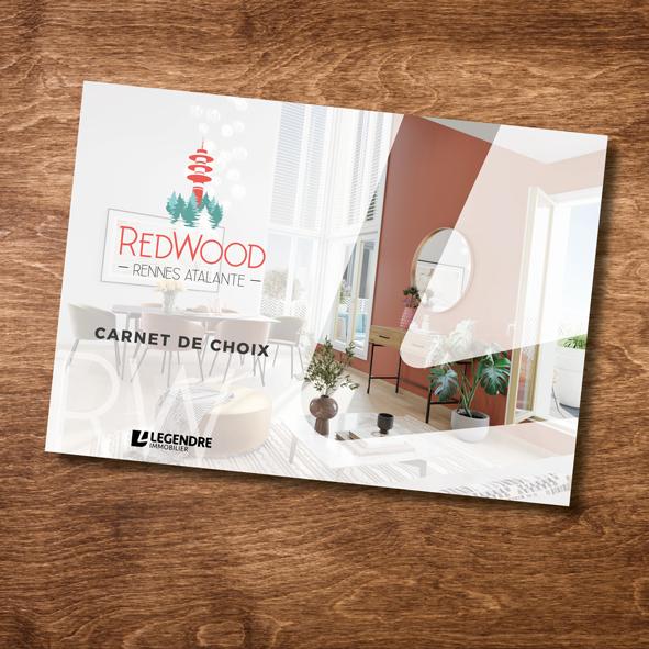 Catalogue REDWOOD - RENNES - Legendre Immobilier - Charte graphique - Illustration