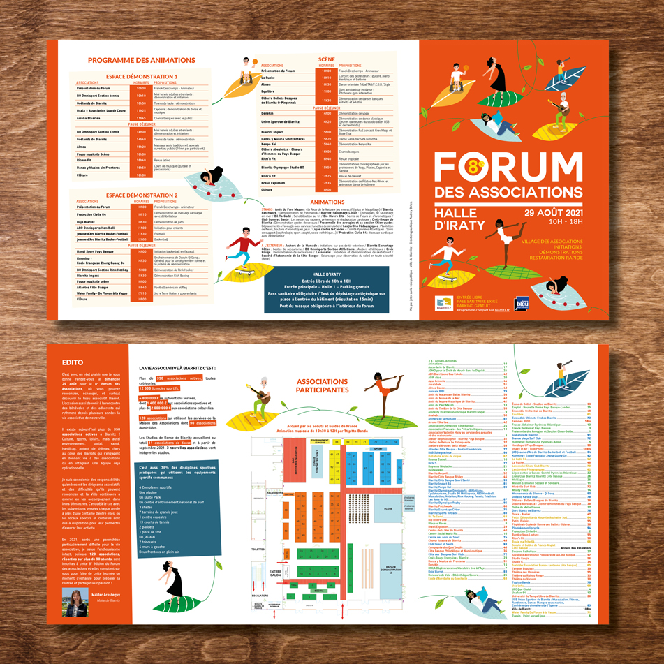 Forum des associations Biarritz 2021